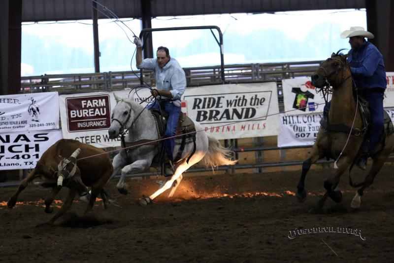 Llano County Team Roping 2014