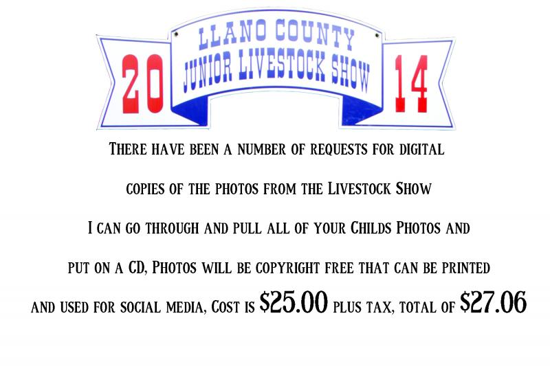 Llano County Junior Livestock Show